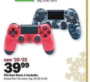 PS4 Dual Shock 4 Controller