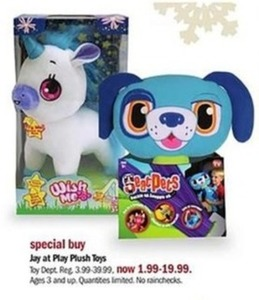 Jay at Play Plush Toys