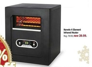 Konwin 4 Element Infrared Heater