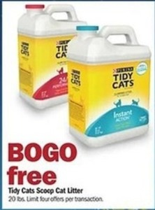Tidy Cats Scoop Cat Litter