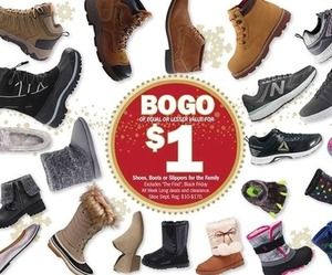 Shoes, Boots or Slippers for the Family