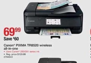 Canon Pixma TR8520 Wireless Printer
