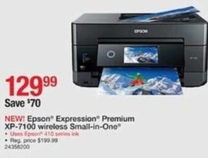 Epson Expression Premium XP-7100 Wireless All-in-One
