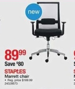 Staples Marrett Chair