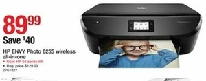 HP Envy Photo 6255 Wireless All-In- One