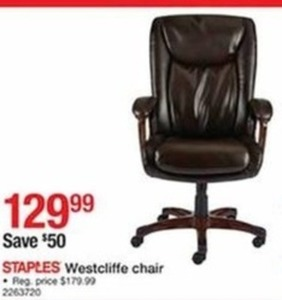 Staples Westcliffe Chair