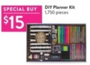 Diy Planner Kit 1750 Pieces