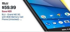 BLU Grand M2 3G Memory Cell Phone