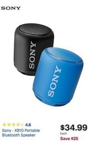Sony XB10 Portable Bluetooth Speaker