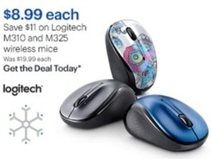 Logitech M310 and M325 Mice
