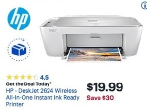 HP DeskJet 2624 Wireless All-In-One Printer