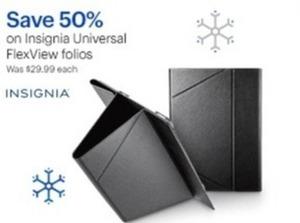 Insignia Universal Flex View Folios