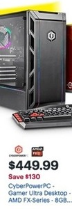 Cyber Power Pc Gamer Ultra Desktop