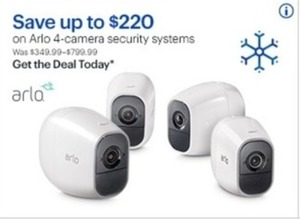 Arlo 4 Camera Security Systems