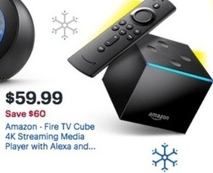 Amazon Fire Tv Cube 4K Streaming Media Player