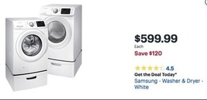Samsung Washer or Dryer
