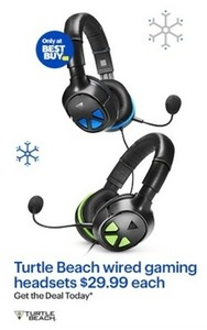 Turtle Beach Wired Gaming Headsets