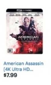 American Assassin 4K Ultra HD Blu-Ray