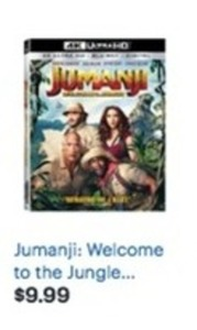 Jumanji: Welcome to the Jungle 4K Ultra HD Blu-ray