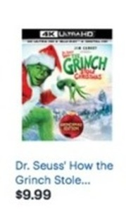 Dr. Seuss' How the Grinch Stole Christmas 4K Ultra HD Blu-ray