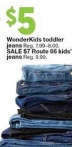 Wonder Kids Toddler Jeans