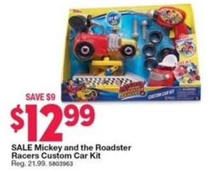 Mickey and the Roadster Racers Custom Car Kit