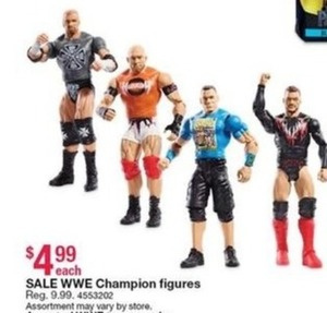 WWE Champion Figures
