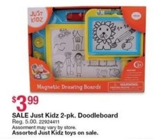 Just Kidz 2-Pack DoddleBoard
