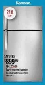 Kenmore Top-Freezer Refrigerator