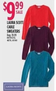 Laura Scott Cable Sweaters