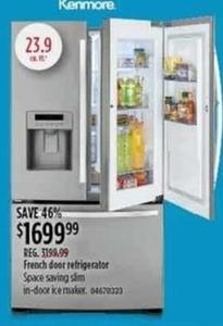 Kenmore 23.9 cu. ft. Refrigerator