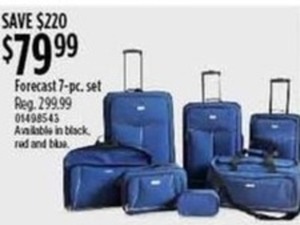 Forecast 7-Piece Luggage Set