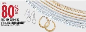 10K & 14K Gold & Sterling Silver Jewelry