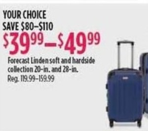 Forecast Linden Soft & Hardside Collection