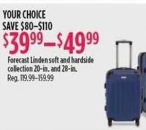 Forecast Linden Soft & Hardside Collection