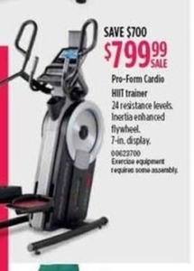 Pro-Form Cardio HIIT Trainer