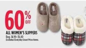 All Women's Slippers