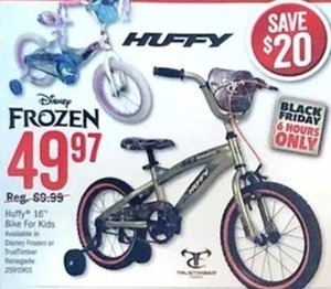 "Huffy Kids 16"" Bike"