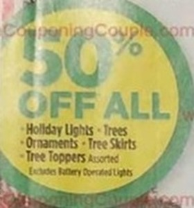 Holiday Lights, Trees, Ornaments, Tree Skirts, Tree Toppers