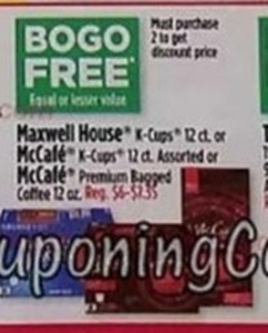 Select K-Cups and Bagged Coffee