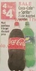 Coca-Cola or Sprite 2-Liter Assorted