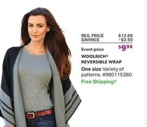 Woolrich Reversible Wrap