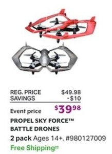 Propel Sky Force Battle Drones