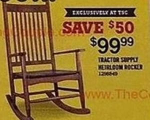 Tractor Supply Heirloom Rocker