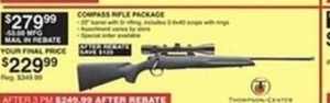 Compass Rifle Package - With Rebate