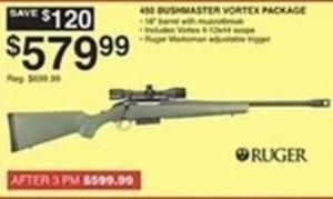 Ruger 400 Bushmaster Vortex Package