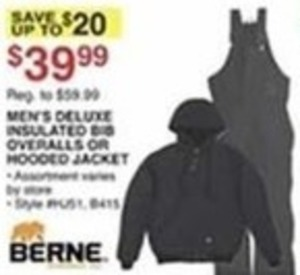 Men's Deluxe Insulated Hooded Jacket