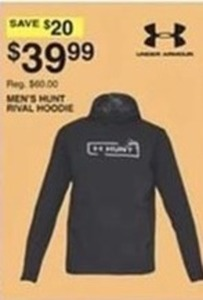 Under Armour Men's Hunt Rival Hoodie