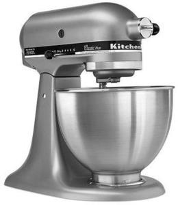 KitchenAid KSM75SL Stand Mixer, 4.5 Qt. Classic Plus Tilt Head After Rebate