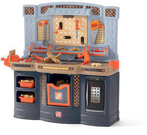 The Home Depot Big Builders Workshop Playset